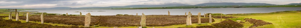Ring of Brodgar and Loch Harray, Orkney