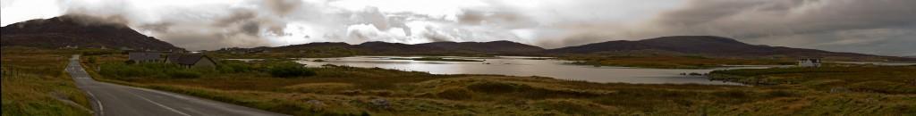 Approaching Lochboisdale, South Uist